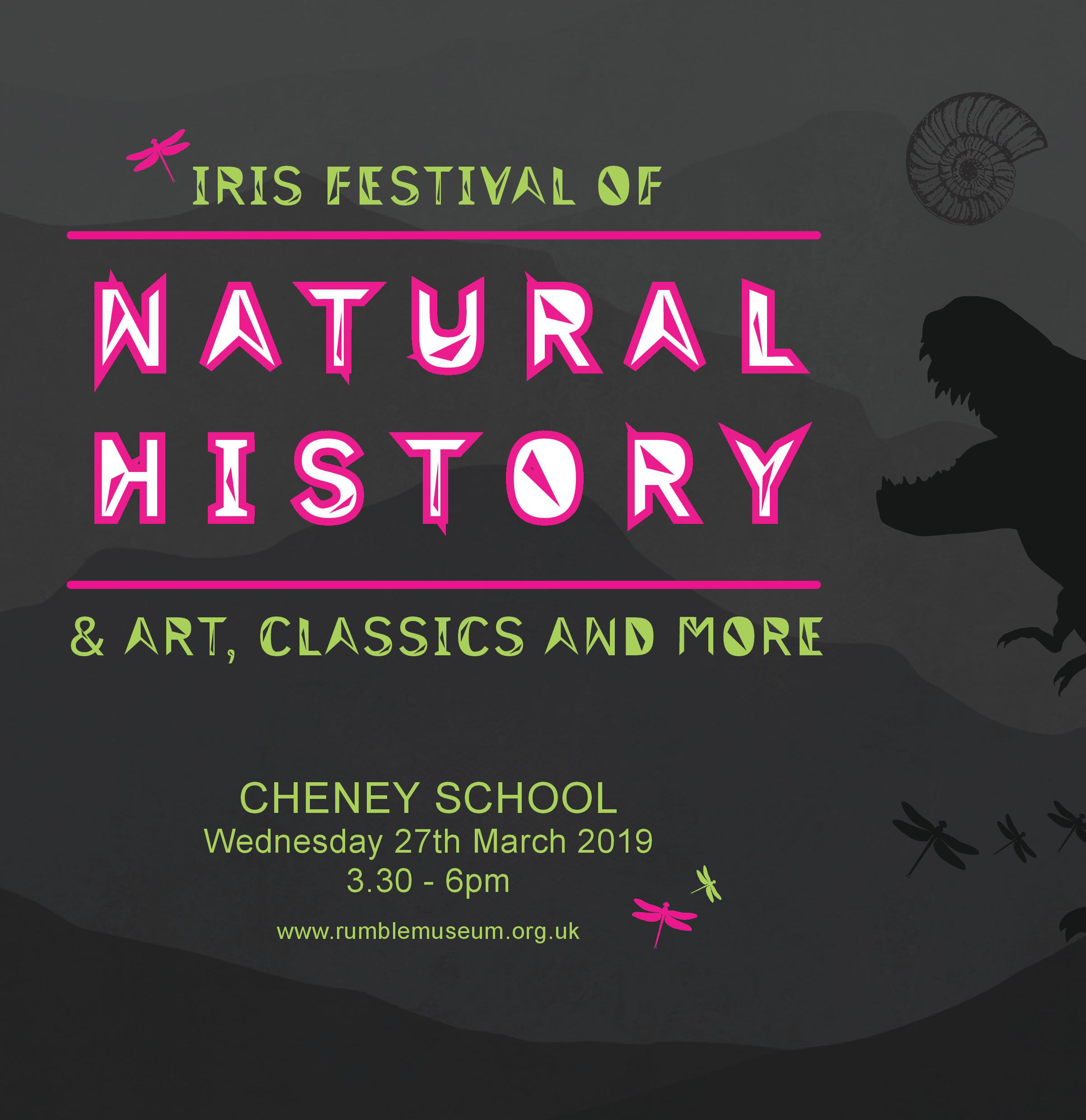 Iris Festival of Natural History, Classics, Art and More, 27 March 2019