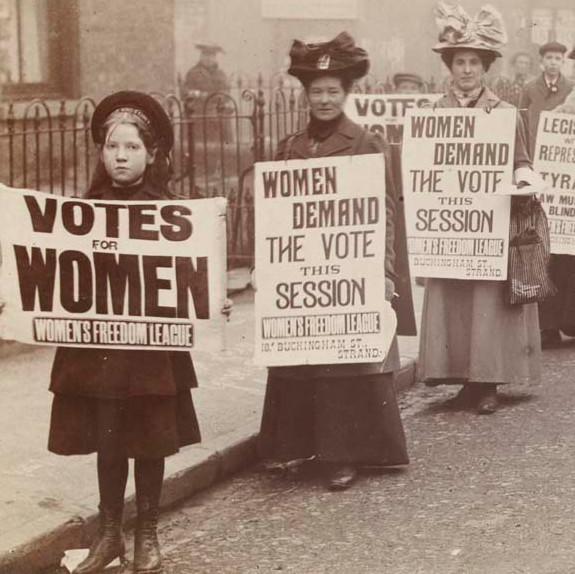 Women's Suffrage Season at the Rumble Museum