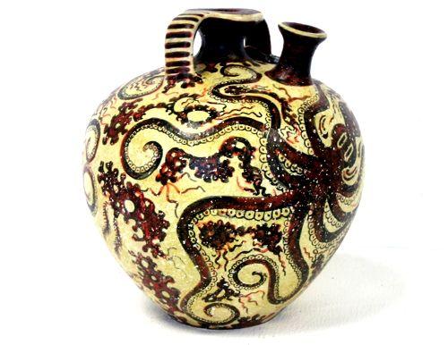 Minoan Octopus Jar